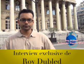 Interview exclusive de Roy Dubled pour son premier livre