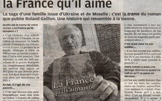 Premier interview pour Roland Gaillon