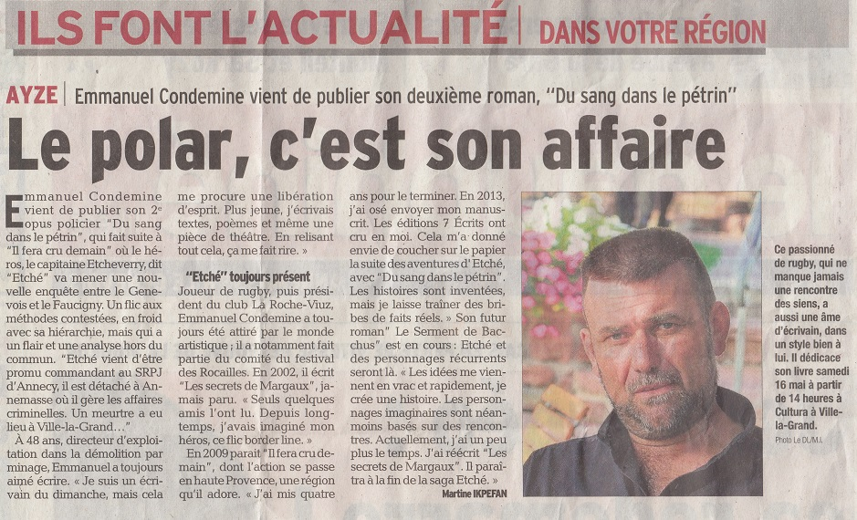 Article du DL 2015