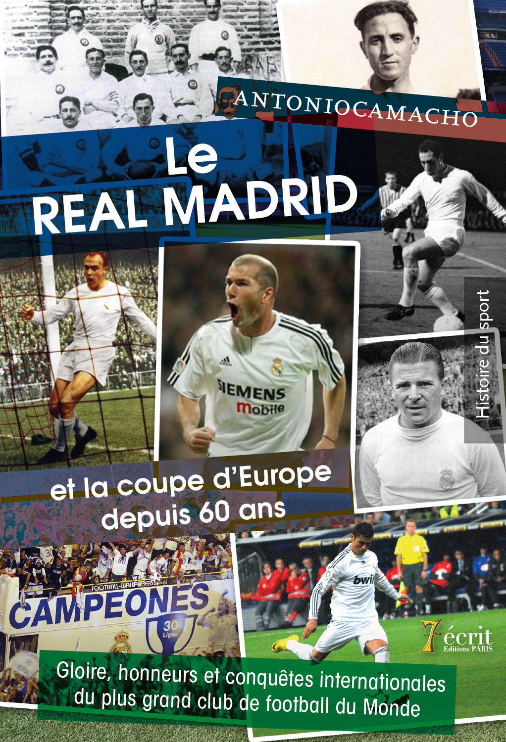 Le real madrid et la coupe d europe depuis 60 ans gloire - Football coupe d europe des clubs champions ...