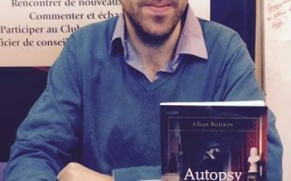 l'auteur Alban Bourdy invité au salon de Paris