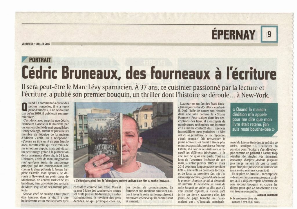 article l'union cedric bruneaux